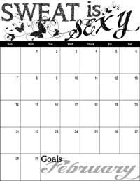 February 2016 Inspirational Calendar
