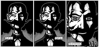"""Panel from """"The cabinet of Dr Diablo"""" by John Reppion & Leah Moore"""