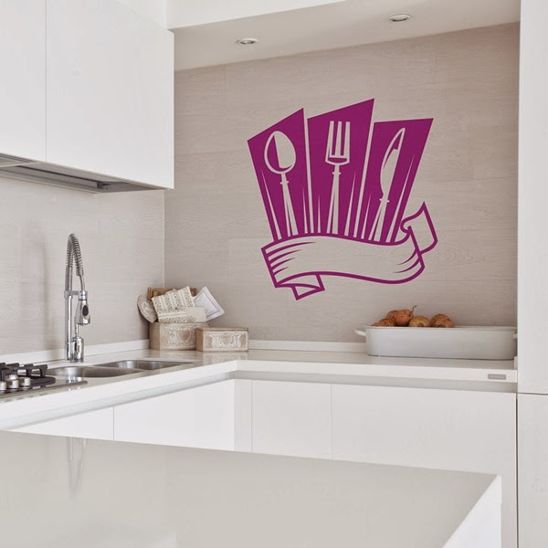 Papel pintado vinilos decorativos cocina - Papel para paredes de cocina ...