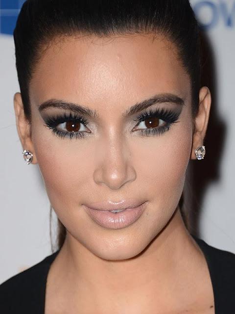 maquilhagem european music awards mtv, Kim Kardashian