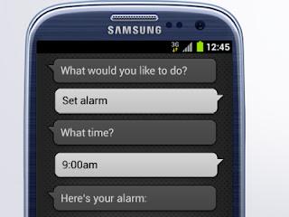 Galaxy S3 voice