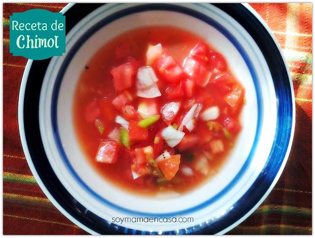 chimol (receta hondureña)