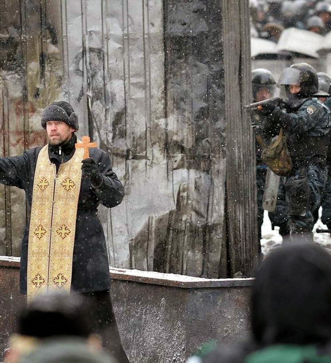 O passado glorioso dos mártires cristãos inspirou a reação ucraniana