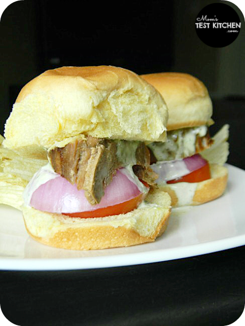 Mom's Test Kitchen: Pork Tenderloin Sliders with Orange Aioli