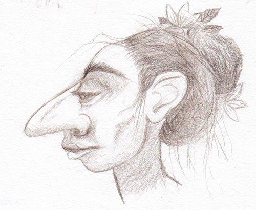 goblin, big nosed lady, odd neighbors