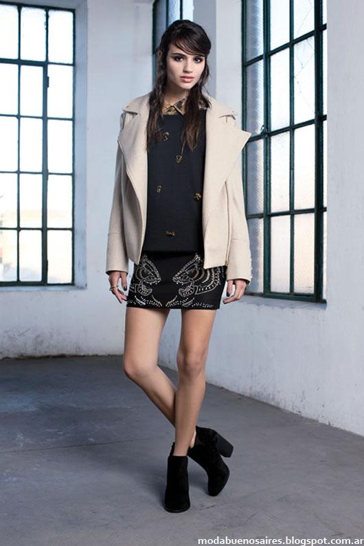 Ayres colección otoño invierno 2014 moda invierno 2014.