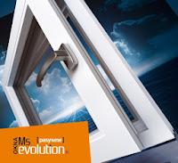 Okno PVC MS Evolution do budownictwa pasywnego