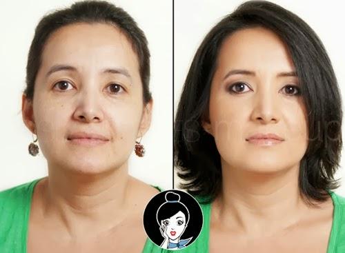 maquillaje natural para mujer adulta