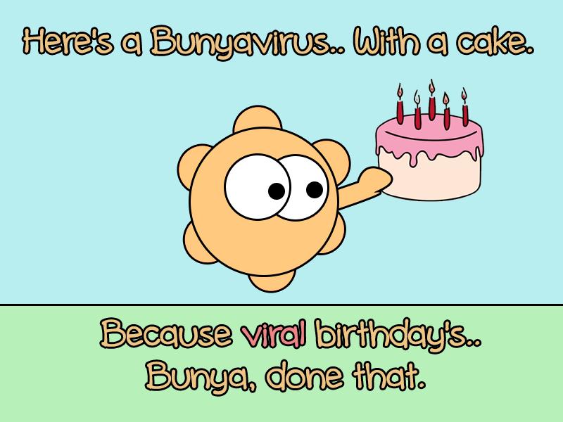 Microbiology Birthday Cartoon Immense Immunology Insight