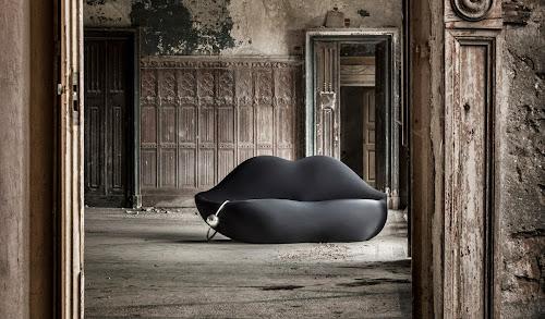 Bocca, The Sofa Shaped as Giant Lips