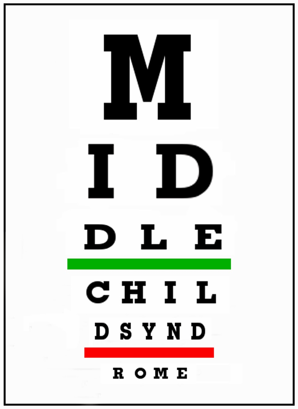 Smack dab a middle childs blog middle children have their own middle children have their own way of seeing things nvjuhfo Image collections