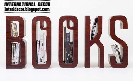 Modern Bookshelf Design Idea 540 x 330