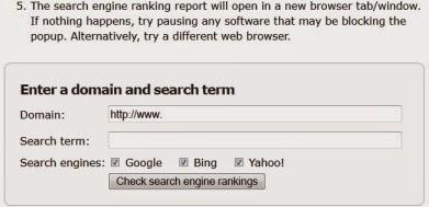 tampilan mikes-marketing-tools.com untuk cek posisi website di google