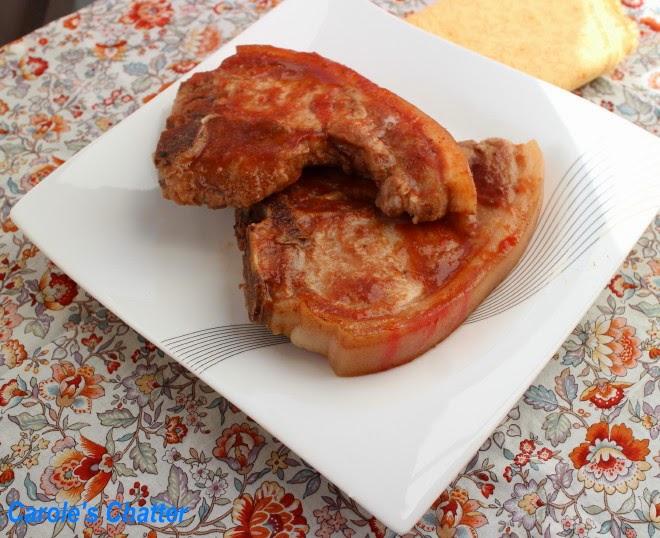 Carole's Chatter: Cola Pork Chops