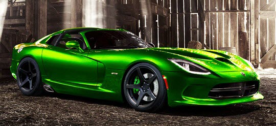 Carnation Auto Blog Dodge SRT Viper GTS The Most Powerful - Powerful sports cars