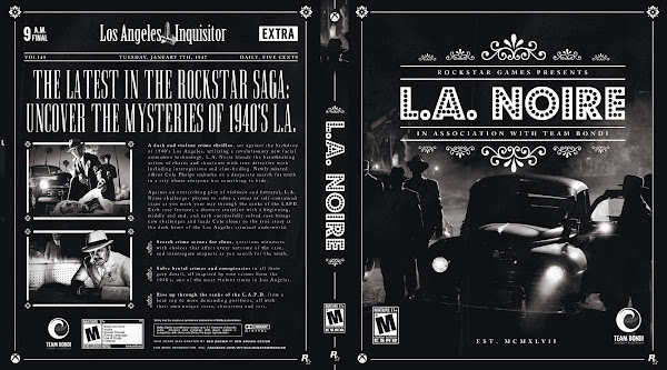 Capa L A Noire Xbox One