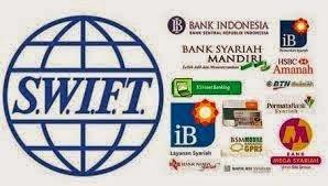 Daftar Kode SWIFT berbagai bank di Indonesia