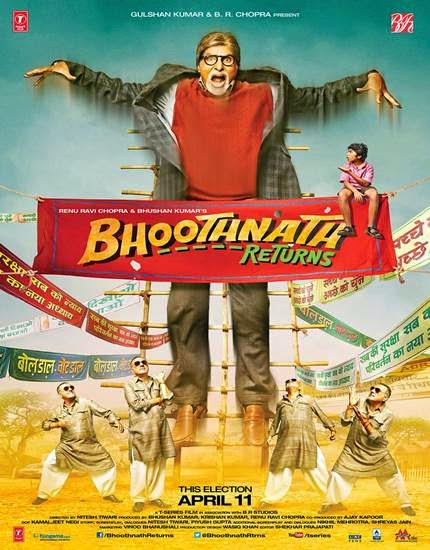 Bhoothnath Returns filmin afisi