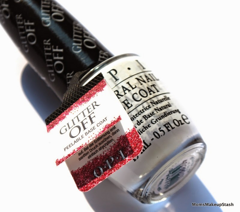 OPI Review, OPI Glitter Off Review, OPI Glitter OFF Base Coat, Peel-Able Base Coat, Remove Glitter Nail Polish, Nail Polish Review, OPI Glitter