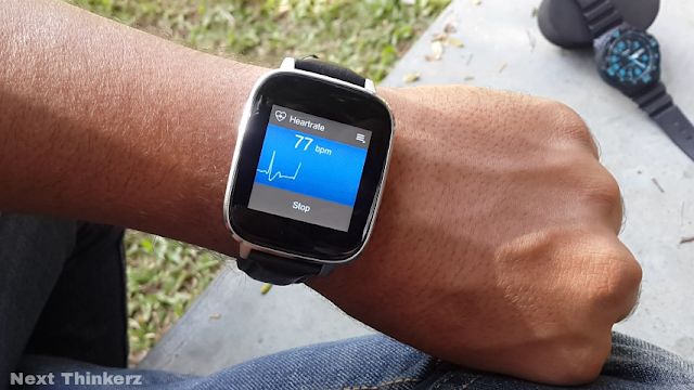 alpha watch heart rate repeat