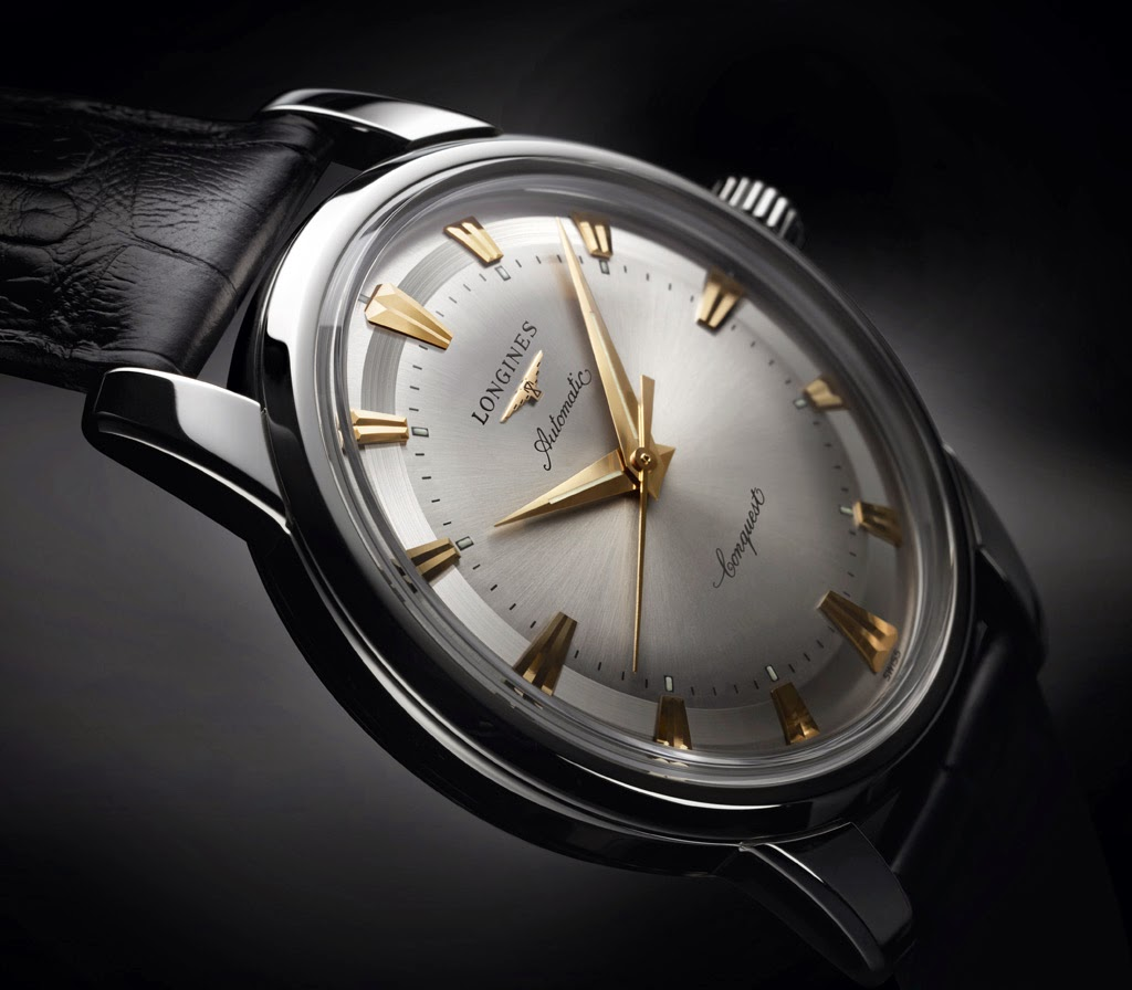 Longines - Longines - Conquest Heritage 1954-2014 Longines-Conquest-Heritage-1954-2014_steel_side