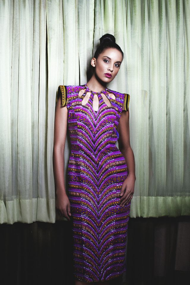 Iconic Invanity Spring/summer 2013 collection- kitenge dresses online