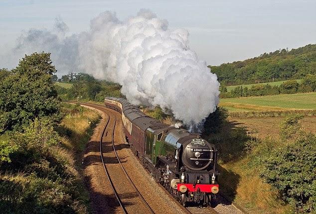 Viajes en locomotoras a vapor: de Surrey a Devon en el Cathedral ...