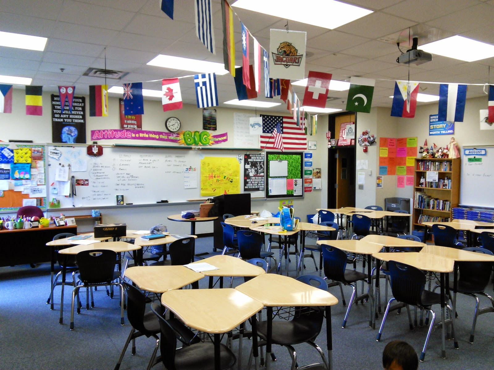 30 Day Blogging Challenge: Day 5: Our Classroom
