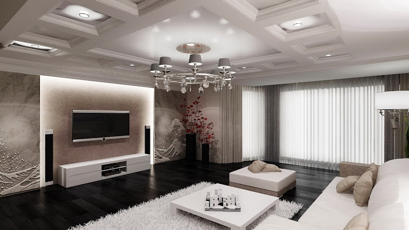 Living Room TV Wall Design Ideas