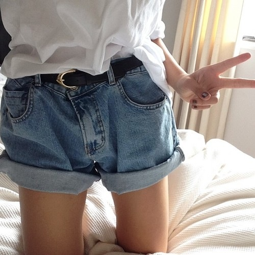 boyfriend jeans, boyfriend shorts, folded denim shorts, jean cutoffs alternatives