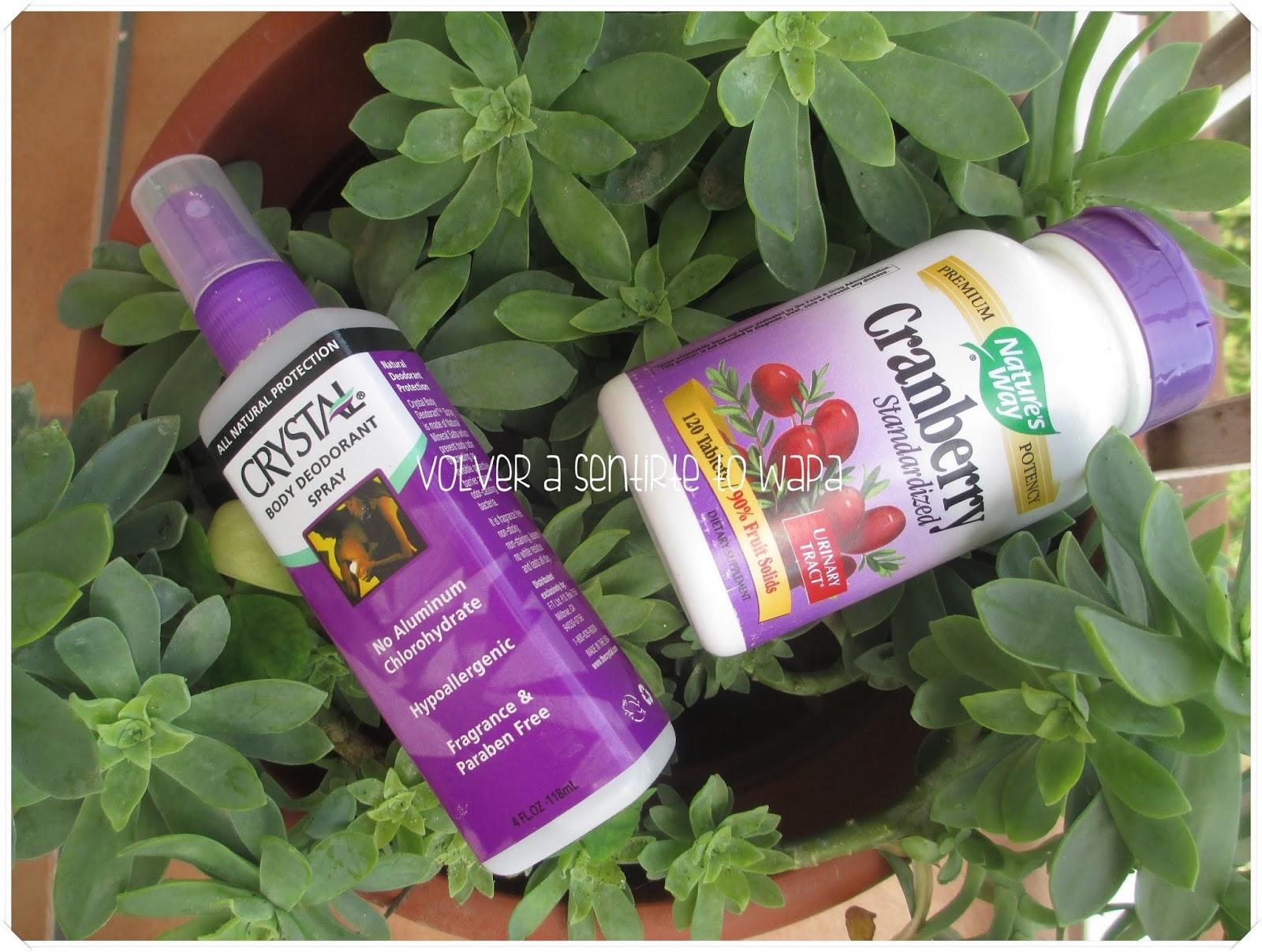 Compras de favoritos de iHerb - cápsulas de arándanos y desodorante sin aluminio