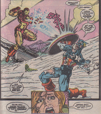 How rage-zombie Tony can operate the Iron Man armor...um, I guess it's really intuitive.