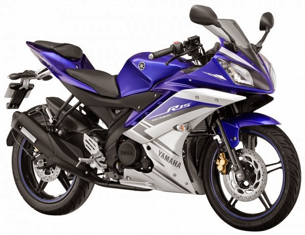 Yamaha YZF-R15 Gets New Paint Schemes