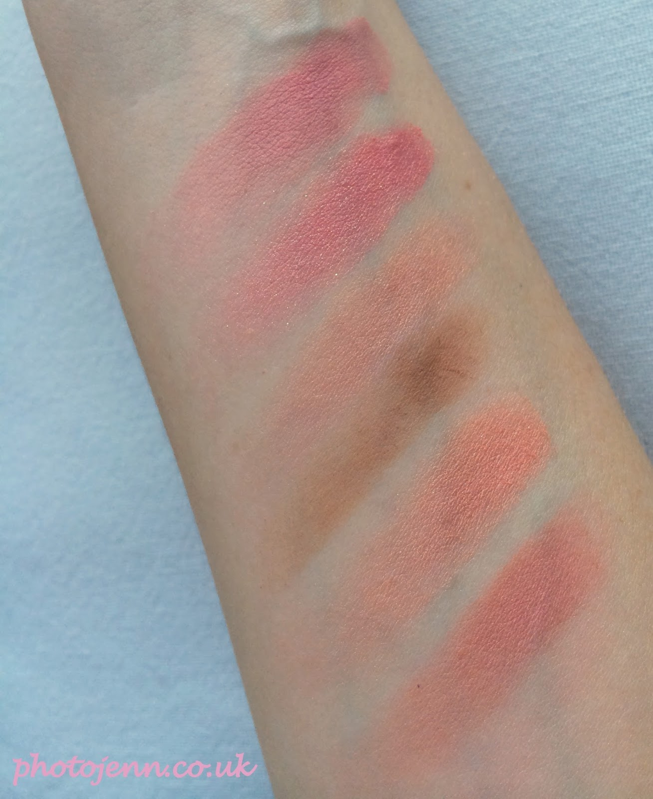 benefit-cheeky-sweet-spot-blush-swatches