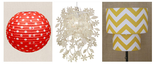 Ma Bicyclette: Rented Home Inspiration   Temporary Home Improvements - Lampshades