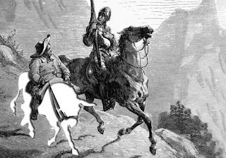 Desaparición del asno de Sancho Panza
