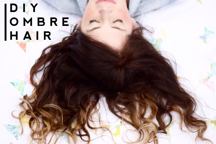 D A N I E L L E B U R K L E O DIY OMBRE HAIR TUTORIAL - Diy ombre hairstyle