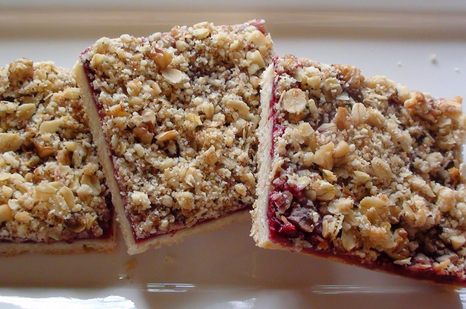 zsuzsa is in the kitchen: RASPBERRY STREUSEL BARS
