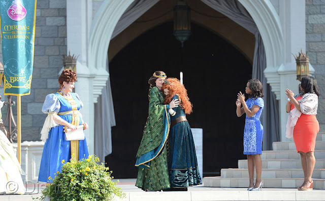 Disney Princess Royal Court Welcomes Merida at Magic Kingdom Park