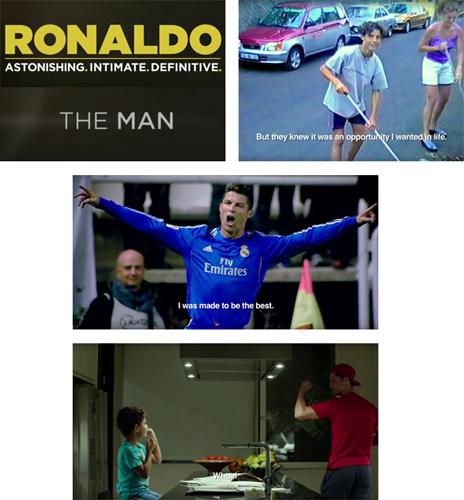 filme documentário Cristiano Ronaldo online baixar