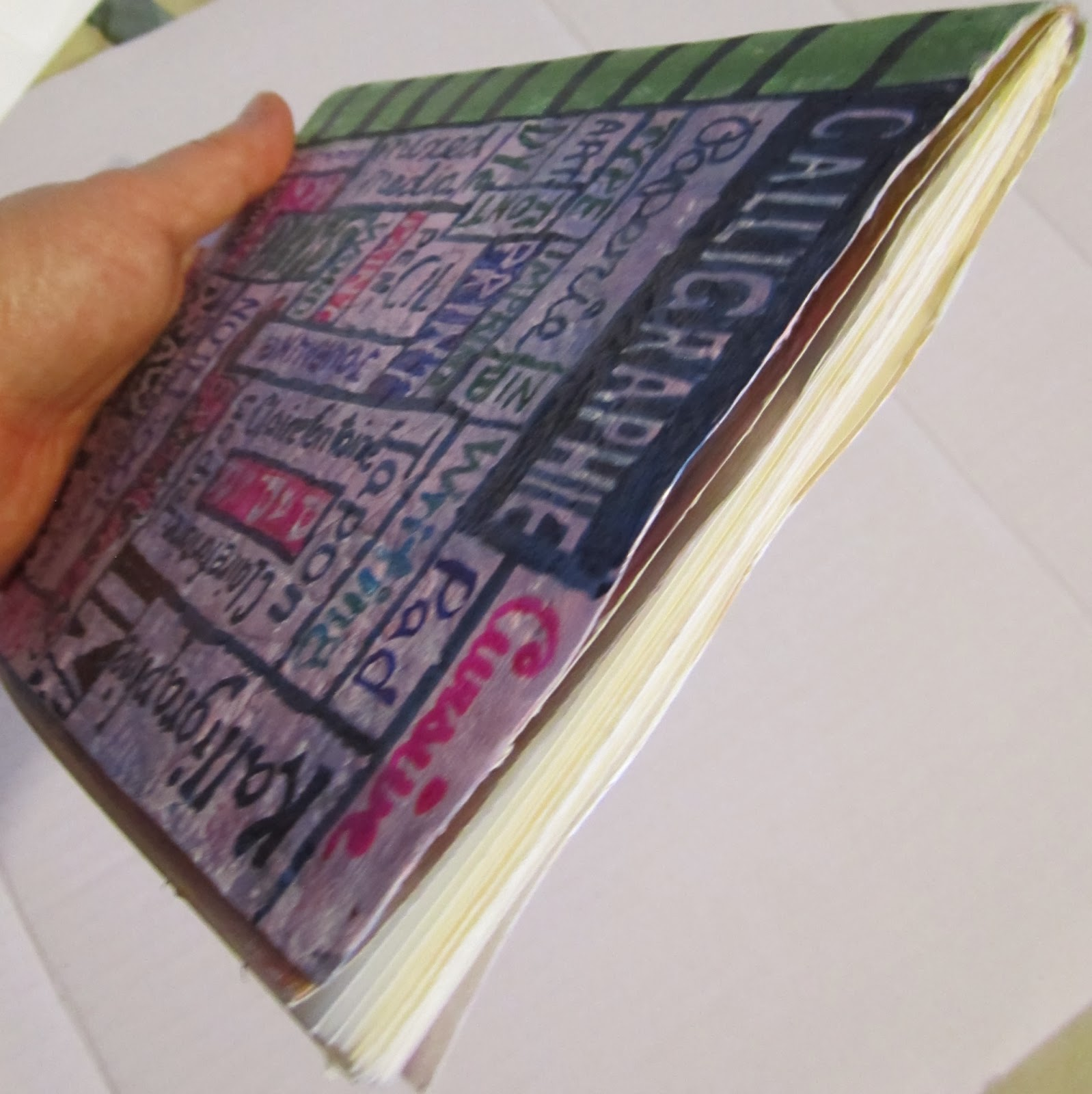 Review Of The Clairefontaine Calligraphy Pad