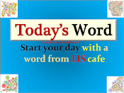 Start your day with a word from LIS cafe