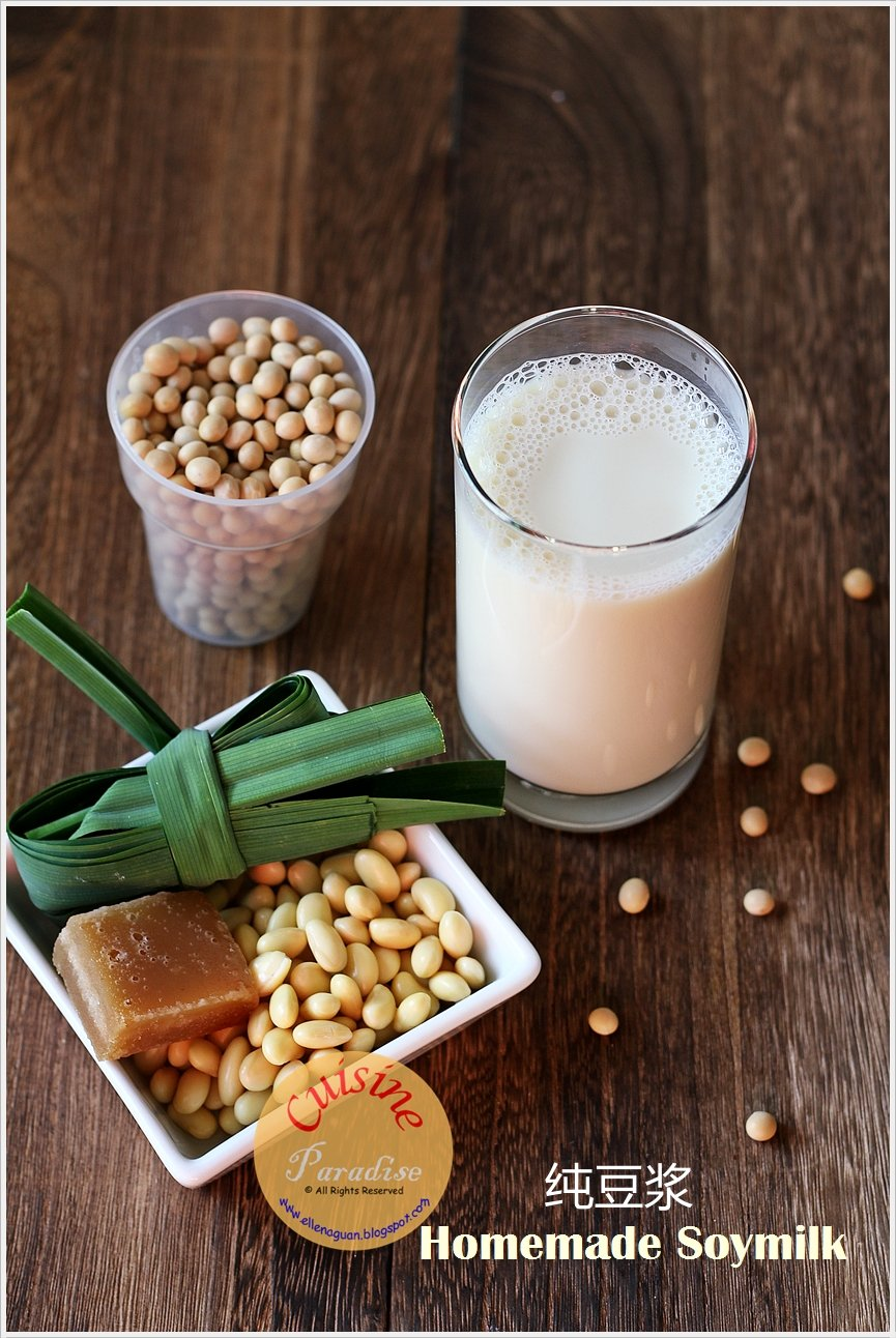 ... And Travel: Homemade Organic Soybean Milk Using Joyoung Soymilk Maker