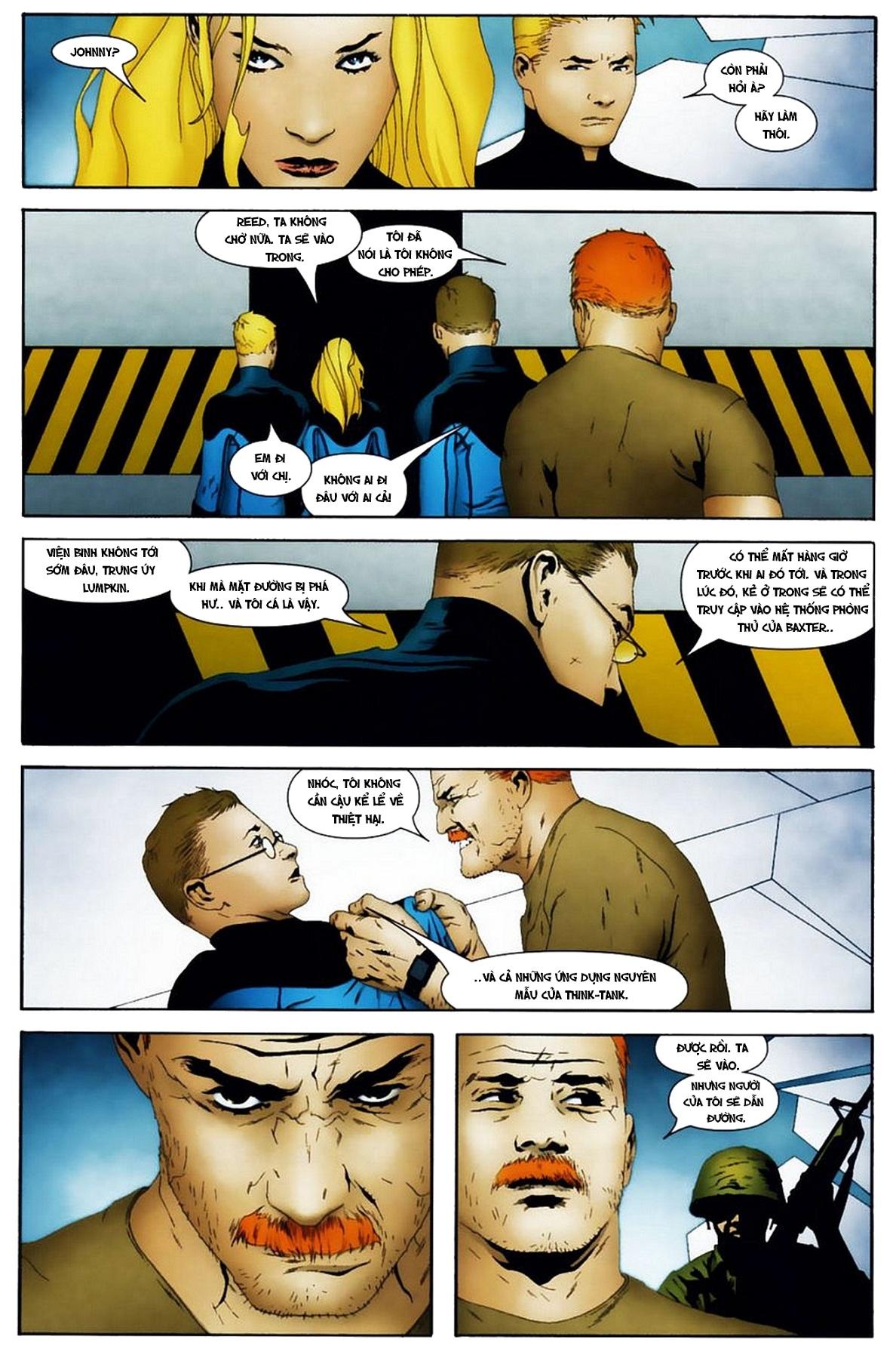 Ultimate Fantastic Four chap 19 - Trang 13