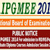 NBE AIPGMEE 2014 Online Registration Application - www.nbe.gov.in