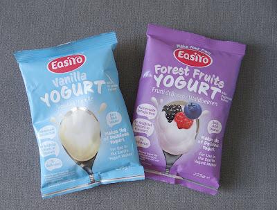 EasiYo, homemade yogurt, yogurt recipes