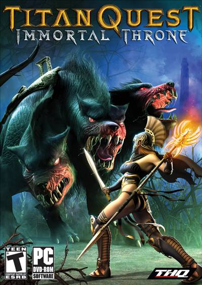 Titan Quest Expansión Immortal Throne PC Full Español DVD5