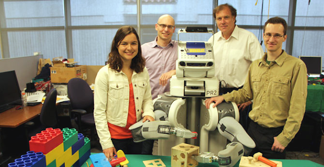 Robots Learn on Their Own Through Trial and Error