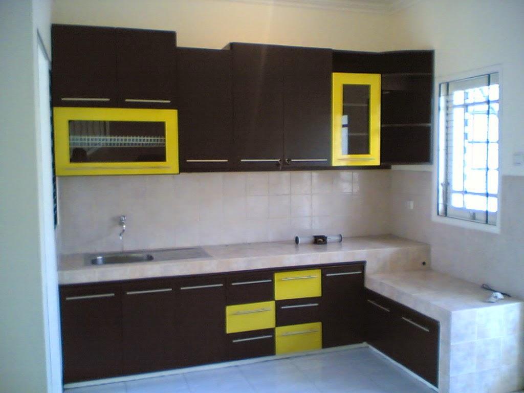 Interior dapur rumah minimalis 1