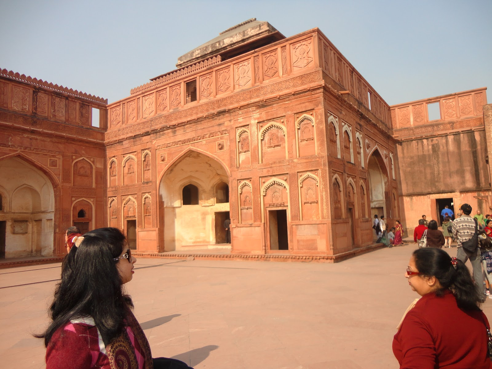 Summer Residence at Agra fort Agra